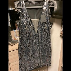 NWT - NBD sequin dress